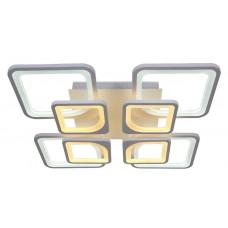 Lustra LED Square Design, Patrata cu Telecomanda, lumina calda/ rece si intensitate reglabila