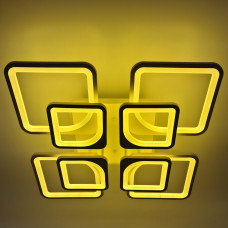 Lustra LED Square Design, Patrata cu Telecomanda, lumina calda/ rece/RGB si intensitate reglabila