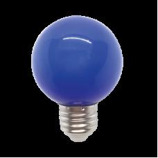 BEC LED GLOB G45 3W E27 ALBASTRU Elmark