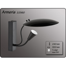 Aplica Armeria Black 22560 ALFA