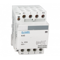 Contactor modular K40 40A 230V 4NC 23424 Elmark