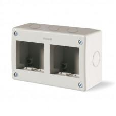 Carcasa PT 2+2 modul IP40 Scame