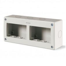 Carcasa PT 3+3 modul IP40 Scame