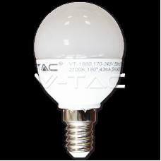 Bec LED Sferic 6W E14 CDL 4252 V-TAC