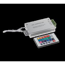 CONTROLER PENTRU BANDA LED RGB CU INFRAROSU 24 BUTOANE 12V 12A 99RGBCR3