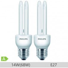 Set 2 becuri economice Philips Economy Stick