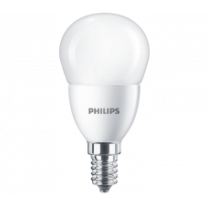 Bec LED sferic 5.5W E14 2700K Philips