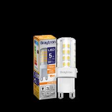 Bec LED 5W G9 3000K