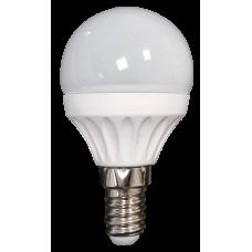 Bec BL LED sferic G45 3W E14 2700K ODOSUN