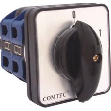 Comutator cu came 0-1 3P/2ETAJE/LW26 160A 2 pozitii 2 nivele Comtec