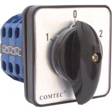 Comutator cu came 1-0-2 3P/3ETAJE /LW26 125A 3 pozitii 3 nivele Comtec