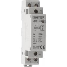 Contactor cu montare pe sina DIN – LNC1-20 1NO+1NC Comtec