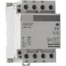 Contactor cu montare pe sina DIN – LNC1-32  1NO+2NC  Comtec