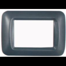 Rama decor 2 module gri inchis Comtec