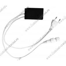 Cablu alimentare cu programator cablu luminos LED 2 canale 3 fire 20M