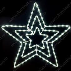 Stea tripla din cablu luminos LED CDL D70 Global